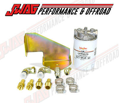 Bd Diesel 47Rh/47He/48Re Inline Trans Filter Kit For '94-07 5.9L Cummins