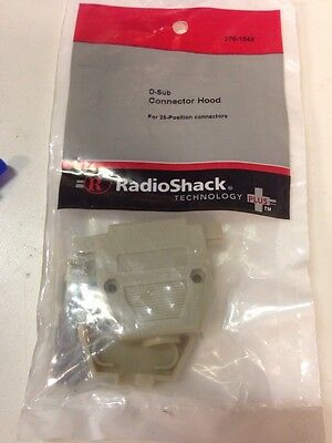 D-Sub Connector Hood #276-1549 By RadioShack