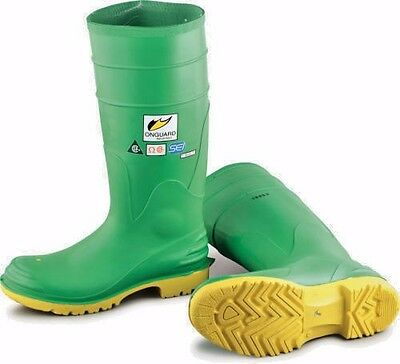 """Onguard Industries Size 10 Hazmax Green 16"""" PVC Work Knee Boots 87012"""