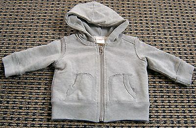 Seed Baby Boys Zip Front Hooded Jacket Sz 3 - 6 Months