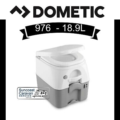 Dometic Sanipottie 976 Portable Toilet for Caravans, Camping & Boats