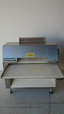 Somerset Industries Dough Sheeter Roller Model CDR-2000S 20 Inch Double Pass