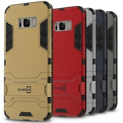 CoverON for Samsung Galaxy S8 Plus Case Hybrid Stand Armor Slim Phone Cover