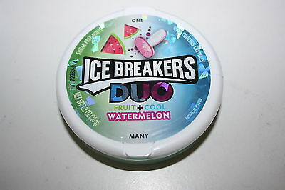 2 x ICE BREAKERS DUO Fruit + Cool WATERMELON 36g each