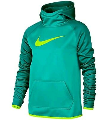 New NWT Nike Girls Pullover Hoodie Size M Medium Therma-Fit