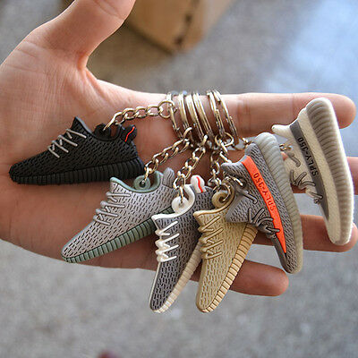Kanye West  350 Boost Style Silicone Keychain Sneaker 3D  Key Chain Keys