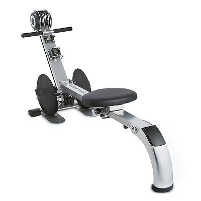Capital Sports Foldable Fitness Rowing Machine Training Ccomputer Full Body Work