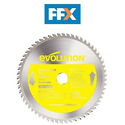 EVOLUTION EVO230SS 230mm TCT Stainless Steel Inox Cutting Saw Blade