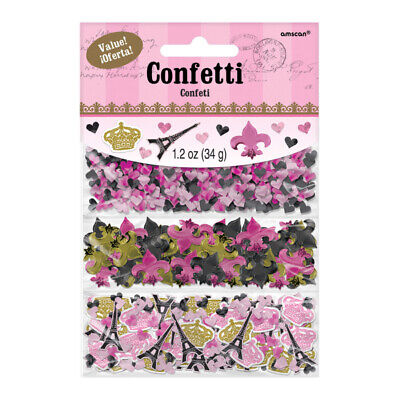 A Day In Paris Triple Pack of Confetti Table Sprinkles