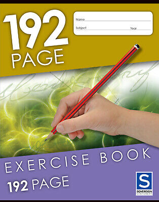 Sovereign Exercise Book 9x7  192 Page - 5 Pack