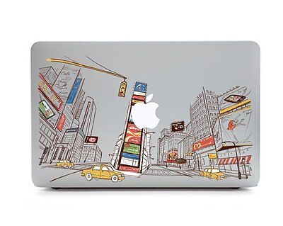 New York City NYC Fifth Avenue Laptop Macbook decal sticker for Air Pro Retina