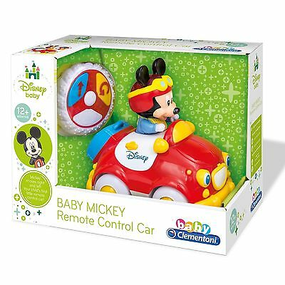 Baby Mickey My First Toy Remote Control Car With Fun Sounds For Age 12+ Months