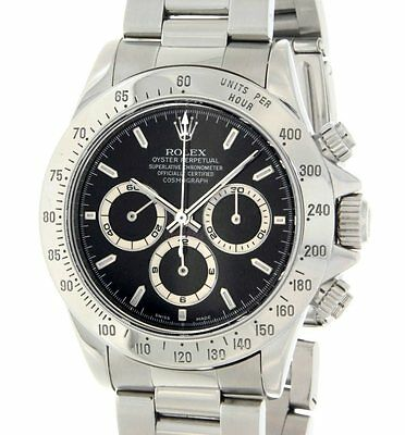 Rolex DAYTONA 16520 ZENITH MOVIMENT STEEL, AUTOMATIC 40 mm 16520