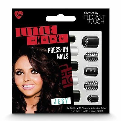 ELEGANT TOUCH Little Mix 24 press on false nails in Jesy