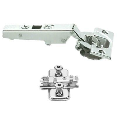 Blum Hinges Soft Close Clip On 71B3550 & Mount Plate 110 Degree Overlay