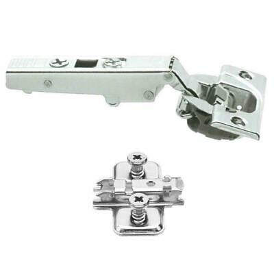 Blum Soft Close Hinge Clip On 71B3550 & Mount Plate 110 Degree Overlay