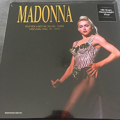 MADONNA 'BLOND AMBITION TOUR REUNION ARENA 1990' 2x VINYL 180 GRAM LP NEW SEALED