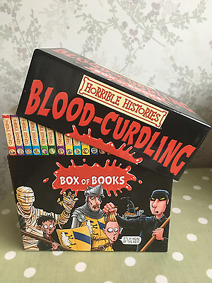 Horrible Histories Box Set of 20 Books