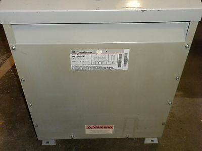 Ge Transformer 30 Kva Three Phase 9T23B3872  No Lugs #n4