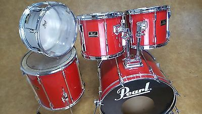 Pearl Export 5pc Shell Pack Bright Red