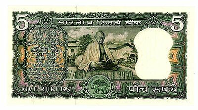 India ... P-68b ... 5 Rupees ... ND(1969) ... CH*UNC*