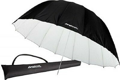 Westcott 7 foot 2.2m Parabolic Umbrella - White/Black 4634