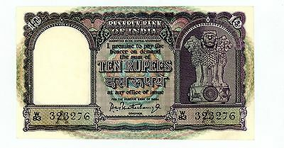 India ... P-40a ... 10 Rupees ... ND(1962) ... CH*UNC*