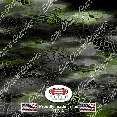 "Digital Lime Green CAMO DECAL 3M WRAP VINYL 52/""x15/"" TRUCK PRINT REAL CAMOUFLAGE"