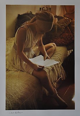 David Hamilton Ltd. Ed. Photo Poster Art Print 50x70cm Signiert Signed 70er/80er