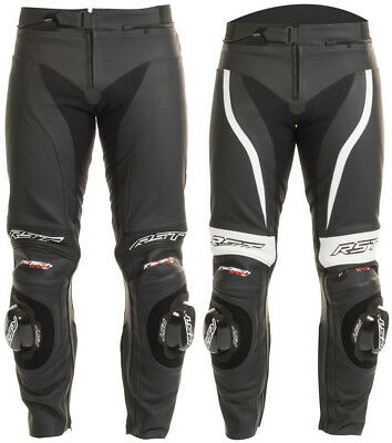 RST Mens Tractech Evo II Armored Leather Sport Motorcycle Riding Pants
