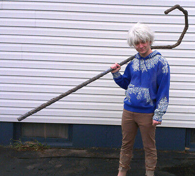 Handmade Jack Frost Rise of the Guardians Cosplay Complete Costume With Wig