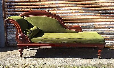 Victorian Chaise Longue Delivery Available