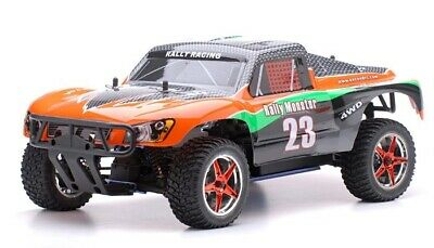 1/10 2.4Ghz Exceed RC Rally Monster Nitro Gas RTR Off Road Truck 4WD Car ORANGE
