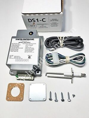 Ds1-C Synetek  Ignition Box 110V Kit Replaces Gem-1,  Ram-1, Cds-1, Epis-117V