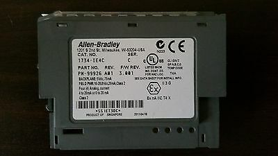 Allen-Bradley 1734-IE4C Analog Input Card - BRAND NEW 3 x available