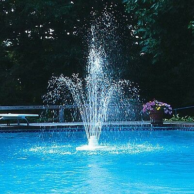 Grecian Floating Pool Fountain, Spa, Pond multi fit hose connection, Poolmaster