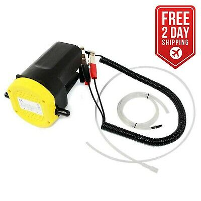 12V Motor Oil Diesel Extractor Scavenge Suction Transfer Change Pump,Tubes Truck