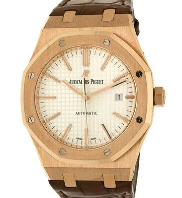 Audemars Piguet ROYAL OAK 15400OR.OO.D088CR.01 RED GOLD, LEATHER, 41MM 15400OR.O