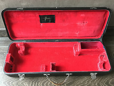 Vintage Original HECKEL BIEBRICH Bassoon Hard Case (from Heckel 9000 Serie)