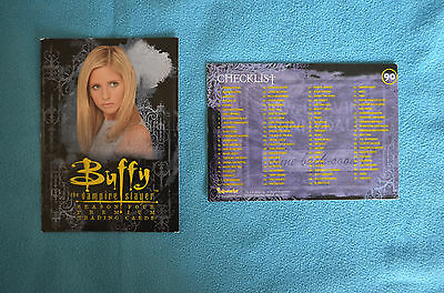 Buffy Premium trading cards Season 4 spare cards