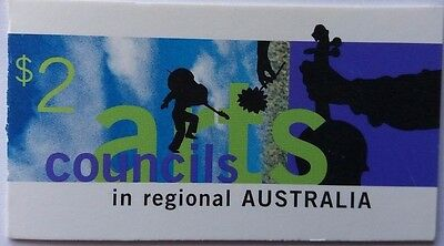 Australia 1996 Arts Councils Stamps Booklet Cancelled With Melbourne Postmark