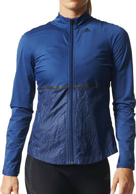 adidas Adizero Track Ladies Running Jacket - Blue