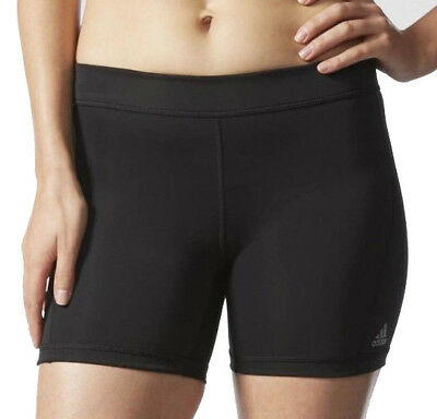 adidas Techfit 5 Inch Compression Ladies Short Running Tights - Black