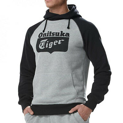 Asics Onitsuka Tiger Pull Over Hoody - Black