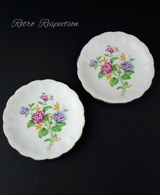 VINTAGE Adderley Bone China Pin Dishes - Pair