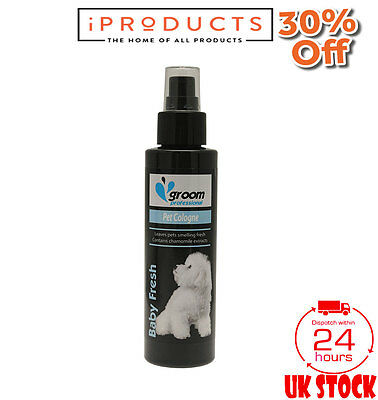 Groom Professional Baby Pet Cologne Puppy Dog Spray 100ml
