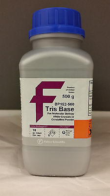 Tris Base for Molecular Biology 500g, Fisher BioReagent #BP152-500
