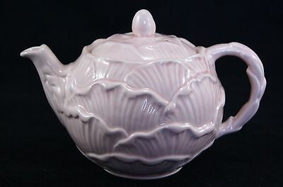 Vintage SYLVAC ENGLISH ROSE Pink Teapot 5409.