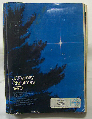 1979 JC Penny Christmas Catalog ~ Clothing, Tools & Toys Reference