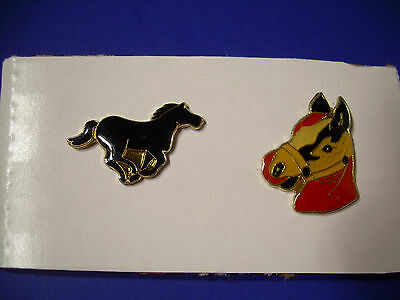 Vintage Horse Pins from the 80's